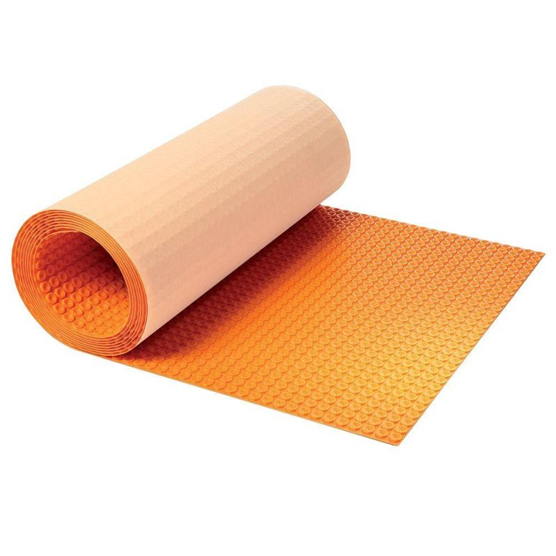 Schluter DITRA-HEAT Uncoupling membrane Roll 3'3″ Wide x 41'1″ Length x 1/4″ Thick (134,5 Sq. Ft. / Roll)