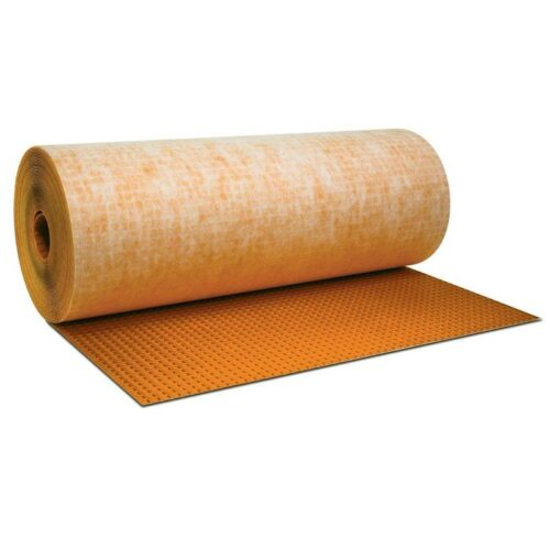 Schluter DITRA Uncoupling membrane Roll 3'3″ Wide x 16'5″ Length x 1/8″ Thick (54 Sq. Ft. / Roll)