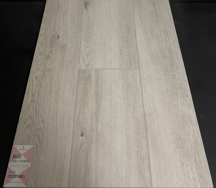 Oyster Shell Falcon Floors 7mm Vinyl Flooring With Pad