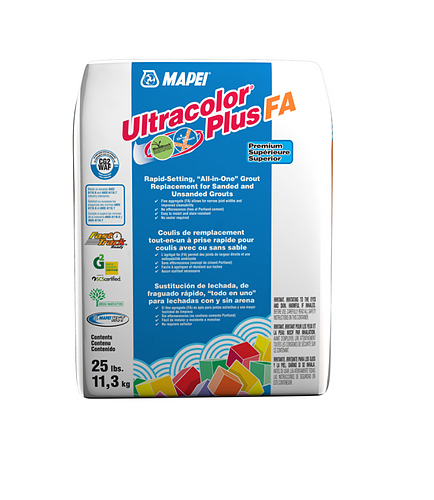 Mapei Ultracolor+ Fa Grout 25lbs White