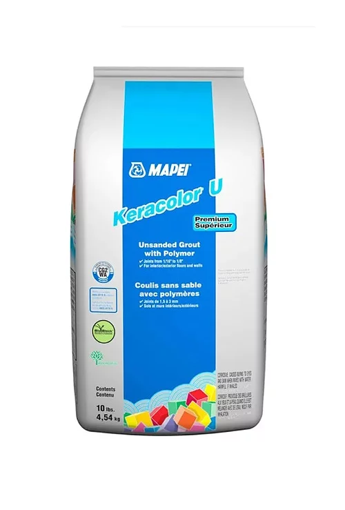 Mapei Keracolor U Grout with Polymer 10lbs #00 White
