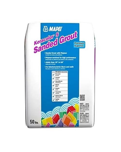 Mapei Keracolor S (Sanded Grout) 50lb 27 Silver