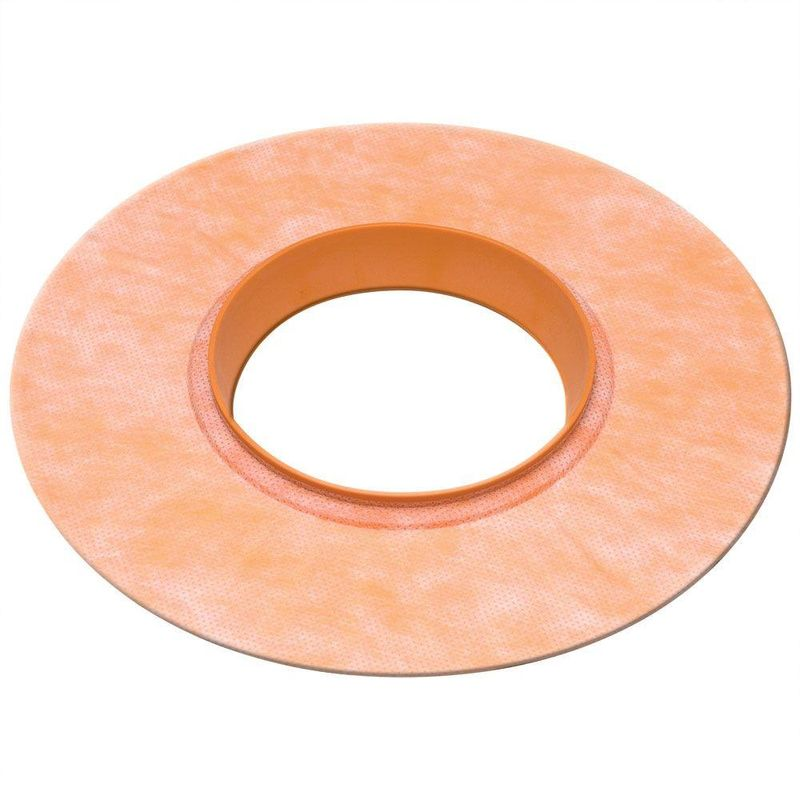 Schluter KERDI-SEAL 4-1/2″ Opening – Valve Seal with Gasket – 4 mil Thickness (Qty 1)
