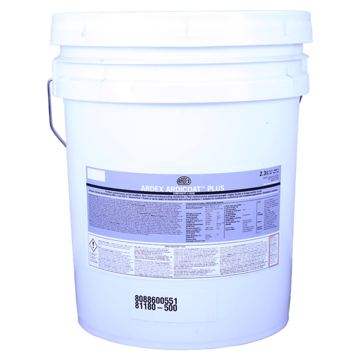 Ardex ARDICOAT Plus – Two component cement-based acrylic waterproofing compound KI