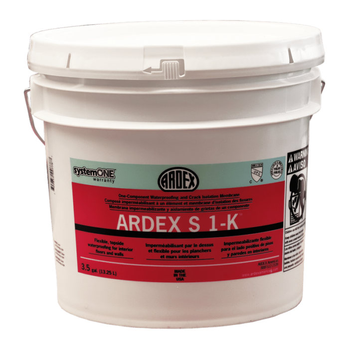 Ardex S 1-K – One-Component Waterproofing and Crack Isolation Membrane