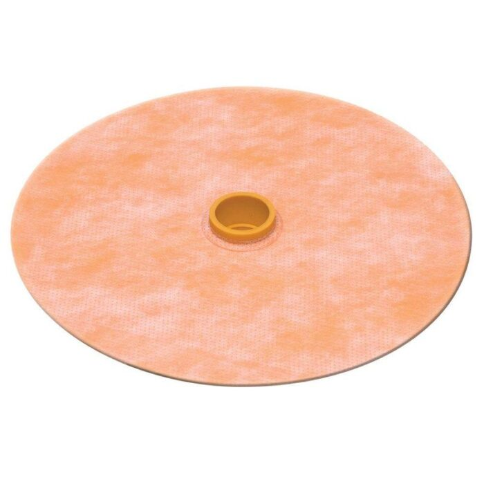 Schluter KERDI-SEAL 1/2″ Opening – Pipe Seal with Gasket – 4 mil Thickness (Qty 1)
