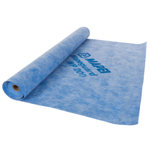 Mapei Mapeguard WP 200 – Waterproofing and Uncoupling membrane – 39,37″ x 98,42′ – 322 sq. ft. Coverage